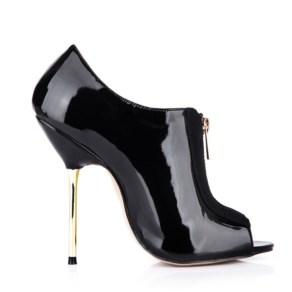 Aliexpress.com : Buy female peep toe ankle boots party hot fashion ...