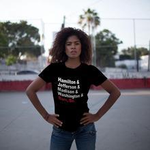 Squad Goals T-Shirt Founding Fathers More Hamilton T Shirt O Neck Trendy Women tshirt