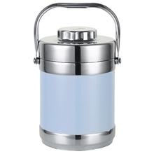 2018 Stainless Steel font b Lunch b font Box Thermos Food Container font b Lunch b