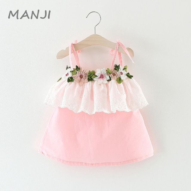 Baby Girl Clothes 0 3 Years Old Dress Summer New Fashion Style 2017