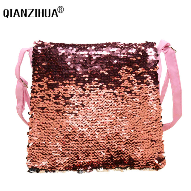 Fashion Change Colors Small Women Leather Bag 1