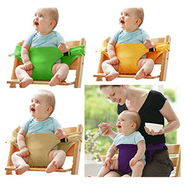 With Booster Seat Washable Portable Baby Straps Chair Travel High pSMqUzV