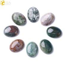 CSJA-Cuentas de ónice de Reiki ágatas indias sin agujero, piedra semipreciosa Natural suelta para bricolaje, fabricación de joyas originales hechas a mano, F282, 1 unidad