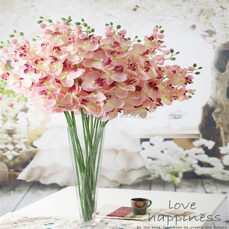 SPR 30 stks / partij kunstmatige vlinder orchidee zijde bloem - Feestversiering en feestartikelen - Foto 2