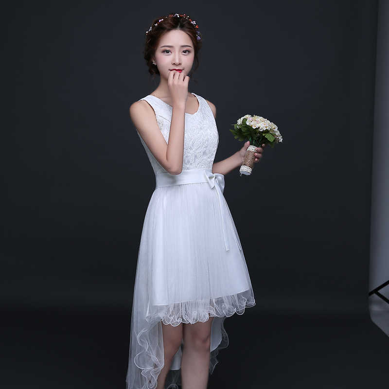Detail Feedback Questions about Sweet Memory White Bridesmaid ... e898eda4bf81