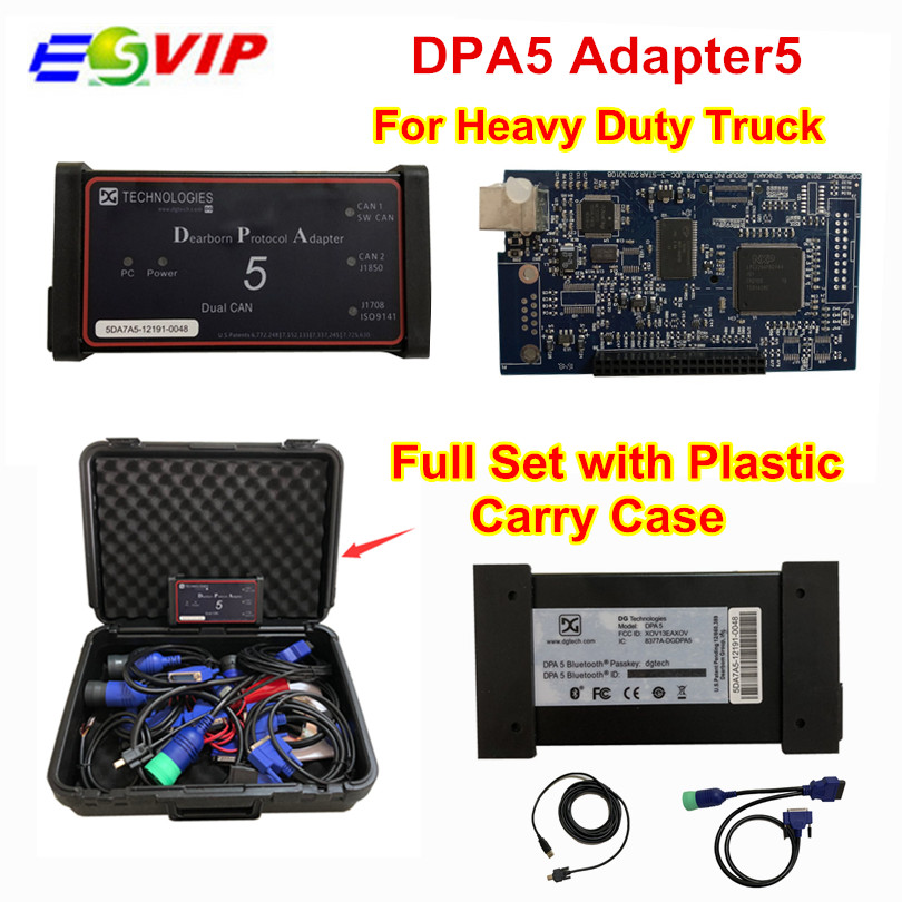 DPA5 Dearborn Portocol Adapter 5 Heavy Duty Truck Scanner Without Bluetooth dpa5 Truck diagnostic tool dpa