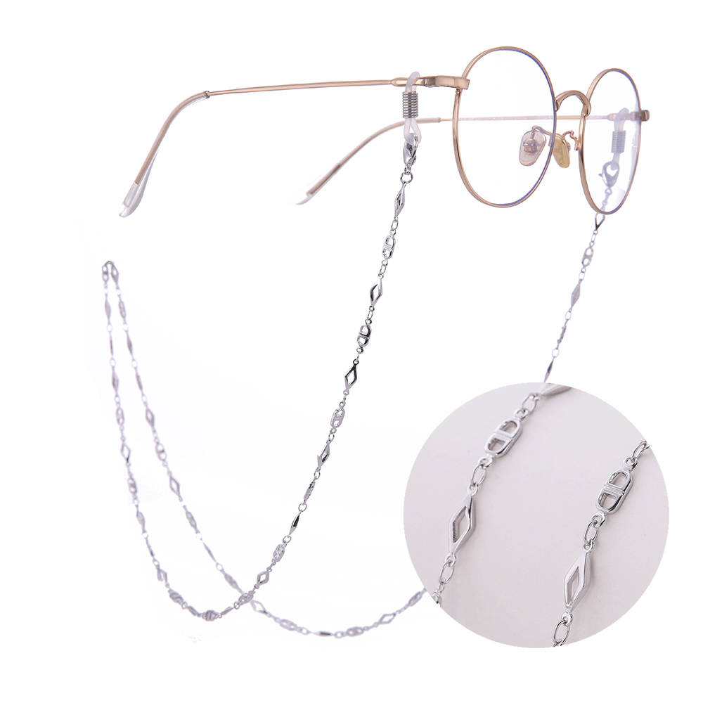 Skyrim 2020 New Design Geometric Sunglasses Neck Cord For Women Glasses Ribbon String With Chain Lanyard Eyeglass Accessories