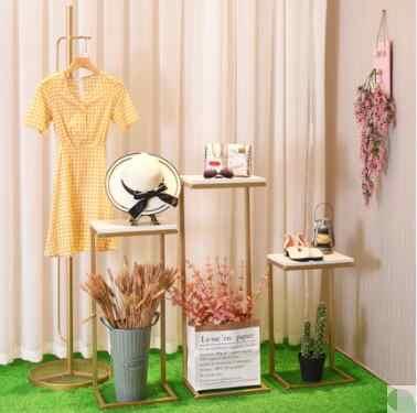 Женская одежда украшения для витрин скатерти магазин подвесная полка с узором шапка с защитой от ветра стойки украшения реквизит стол