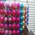 30 шт./лот декор для рождественской елки 6 см шар подвесные рождественские украшения для вечеринки Декор для дома C086