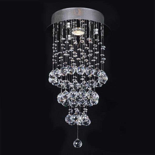 holigoo luster moderne kristall kronleuchter leuchte treppe fhrte pendelleuchte fr foyer esszimmer restaurant dekoration - Kronleuchter Fur Foyer