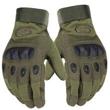 Уличные спортивные тактические перчатки с полным пальцем для пеших прогулок, езды на велосипеде, военные мужские перчатки, защитные перчатки для рыбалки