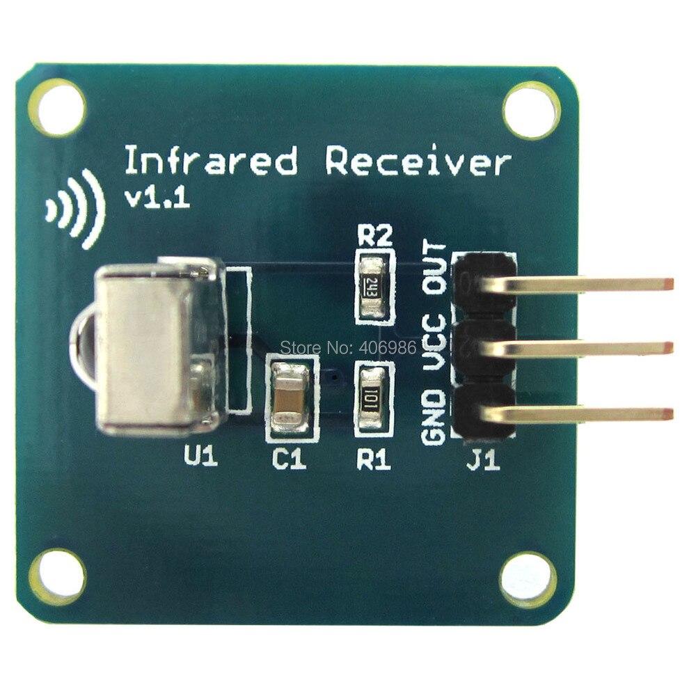 Mini 38KHz TL1838 VS1838B 1838 Infrared Receiver Sensor Module for Arduino RPi STM32 FZ1577
