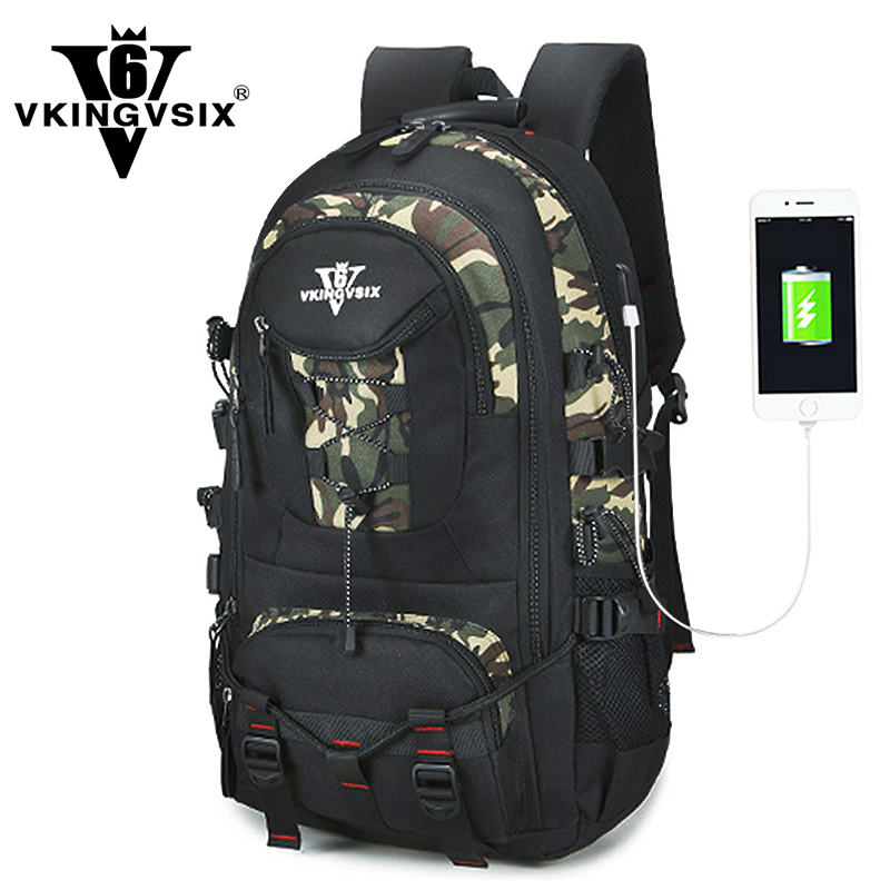 VKINGVSIX USB Waterproof school bags for teenagers 14-17 inch laptop backpack Men Women boy Travel back pack bagpack mochila large 14 15 inch notebook backpack men s travel backpack waterproof nylon school bags for teenagers casual shoulder male bag