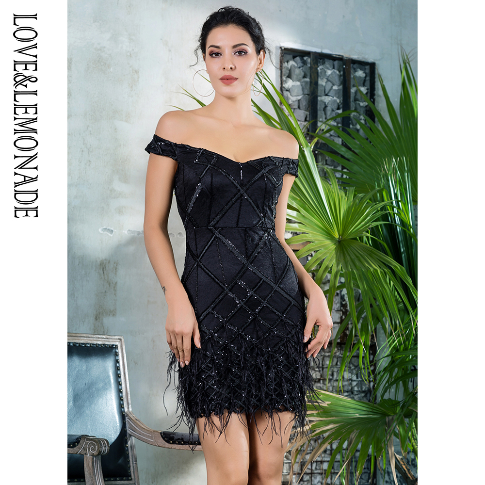 Buy black sequin dress feathers and get free shipping on AliExpress.com 306ad4c19e28
