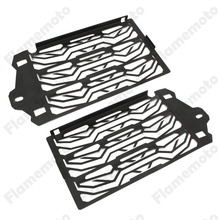 Motorcycle Radiator Water Cooled Grill Guard Cover Black For 2013-2016 BMW R1200GS GSA ADV