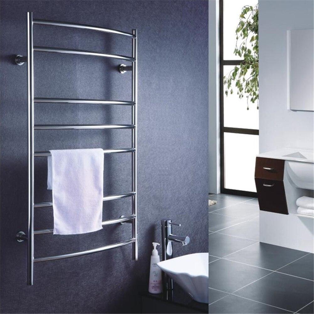 Towel Dryers Bathroom: Free Shipping CURVED Bar Electric Heated Rail Warmer