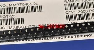 Free shipping 1000 PCS MMBT5401 2L SOT-23 SMD triode transistor audion good quality and ROHS
