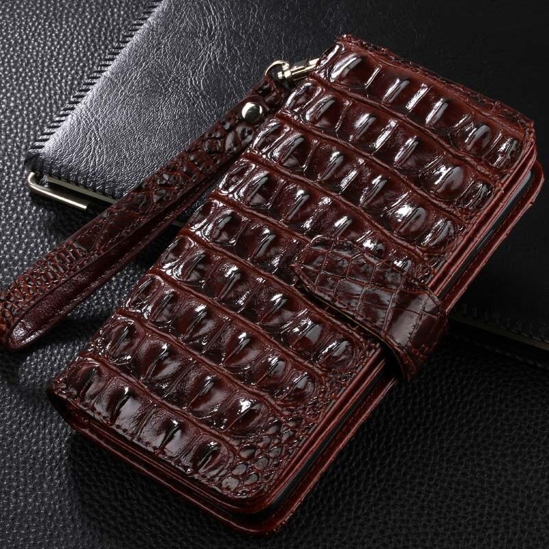 imágenes para Borde Más Nuevo Lujo de la Carpeta para SAMSUNG Galaxy S7 S7 S7 borde Flip Cubierta de la Bolsa Bolsas Móvil Casos de Cuero de Cocodrilo de Alta Calidad