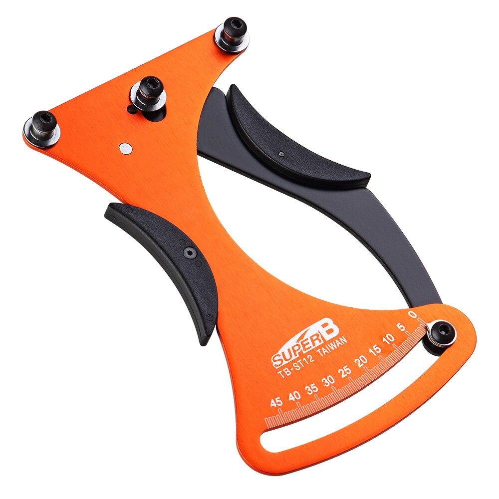 Super B vélo indicateur Attrezi mètre tensiomètre vélo a parlé Tension roue constructeurs outil TB-ST12