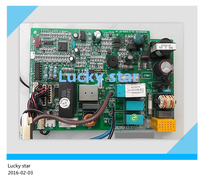 купить 98% new for Gree Air conditioning computer board circuit board 301381131 M819F3A103 (MI) GRJ819-A3 good working по цене 4331.44 рублей