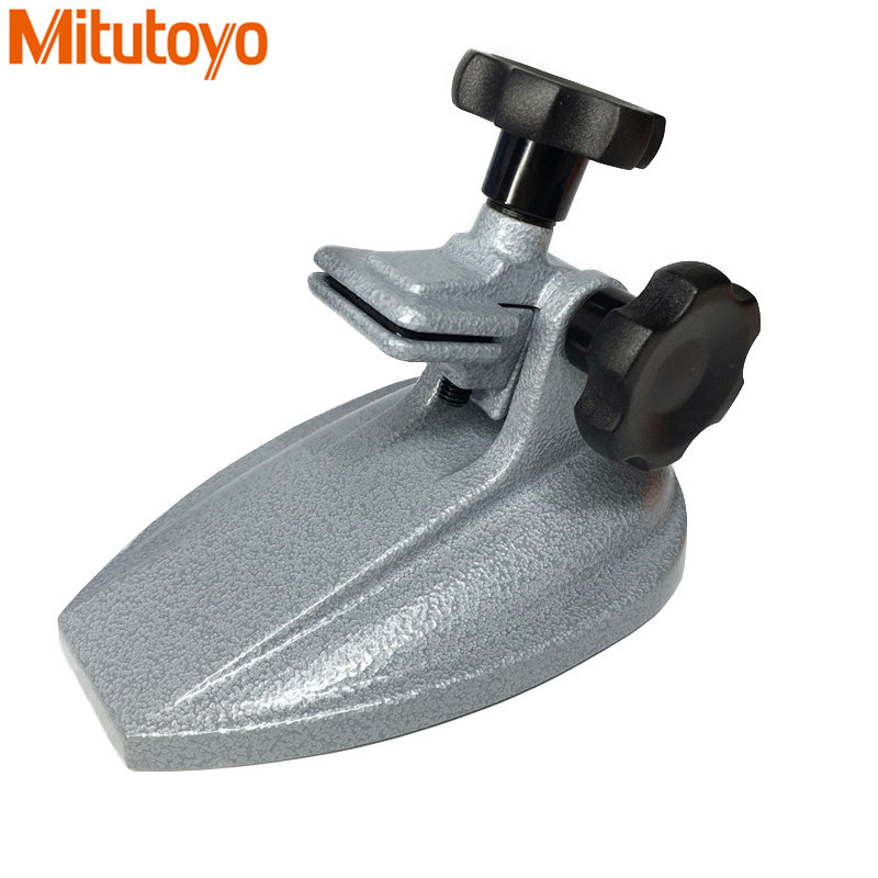 Original Japan Mitutoyo Micrometer Stand Angle Adjustable Carbide Alloy Micrometer Gauge Durable Measuring Tools цена