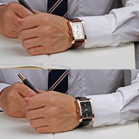 Mode Top-marke Luxus Wasserdicht Casual Quarzuhr Lederband Sport Armbanduhr Glow Stunde Datum Platz Männer Uhren