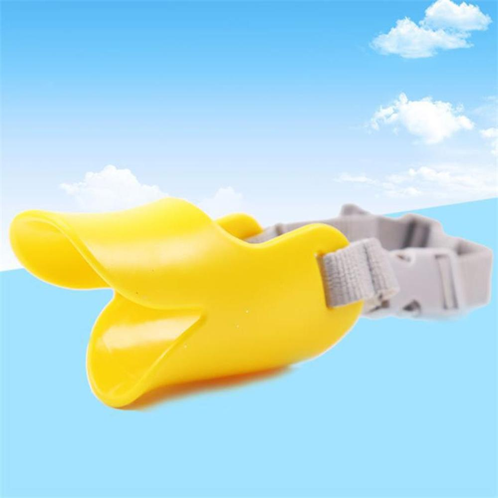 Anti Bite Duck Mouth Shape Pet Funny Duckbill Sets of Anti bite Masks Pet Duckbill Mouth Dogs Covers Pet Supplies in Muzzles from Home Garden
