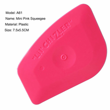 EHDIS Vinyl Film Car Wrap Pink Squeegee Car Auto Tinting Tools Window Cleaning Hand Tool Washer Ice Scraper