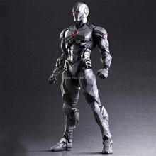 hot Movie Marvel Super hero Avengers iron Man Mech figures Handmade model high classic Collection PVC toys for children gifts