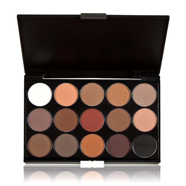 Professional 15 Colors Makeup Warm Eyeshadow Palette