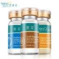 SOON PURE Комплекс 3 выпариваемый раствор: Выпариваемый раствор гиалуроновой кислоты+Выпариваемый раствор улитки возобновления+ Выпариваемый раствор L-VC 6PCS
