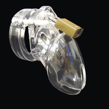 Plastic CB6000S male chastity cock cage device sex toys for male