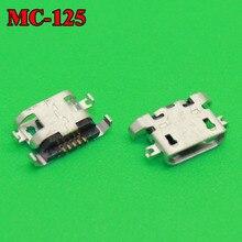 50 Uds 100% nuevo micro USB conector recambio de puerto de carga de piezas para Lenovo A670 S650 S720 S820 S658T A830 A850