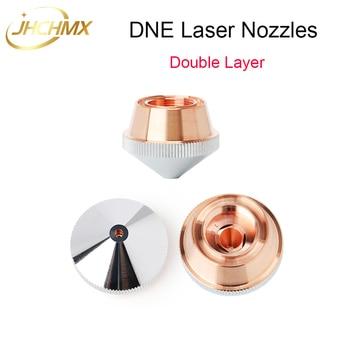 Free Shipping High Quality DNE Fiber Laser Nozzles Double Layer Caliber 0.8-4.0mm For DNE Fiber Laser Cutting Machine 10 pcs/lot