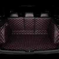 Alfombrillas de maletero de coche personalizadas HeXinYan todos los modelos para Audi A3 Q5 Q3 A7 SQ5 A8 Q7 A5 accesorios de diseño de coche revestimiento de carga personalizado