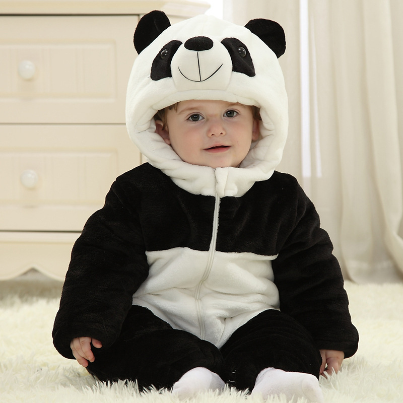 2017 New Baby Girl Boy Winter Romper Padded Thick Newborn Baby Warm Jumpsuit Autumn Fashion baby's wear Kid Climb Clothes 2017 new baby winter romper cotton padded thick newborn baby girl warm jumpsuit autumn fashion baby s wear kid climb clothes