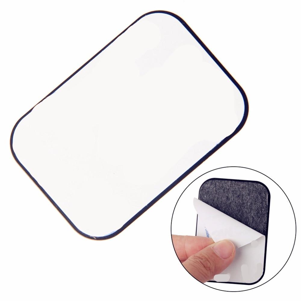 4 шт. Замена металлическая пластина для Магнитная Прокат черточки телефон GPS PDA держатель Прямая доставка