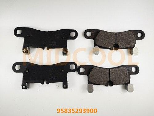 Qualité supérieure DE FREIN SYSTÈME plaquette de frein POUR VW 95835293900