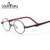Laura Fadas 8-12 Anos de Idade As Crianças Óculos de Armação de Acetato de Design Clássico de Titânio Patchwork Rodada Armações de Óculos de Olho para meninas
