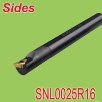 Free Shiping SIR0025R16 25mm Internal Threading Inserts Holder Threaded Holder For Lathe Machine