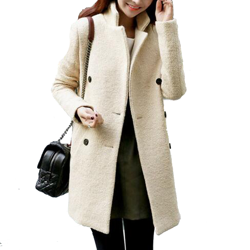 Wool Beige Coat