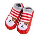 Baby Gift Kids Indoor Floor Socks baby shoes socks Children Infant Cartoon Socks  Leather Sole Non-Slip Thick Towel SocksSWER003