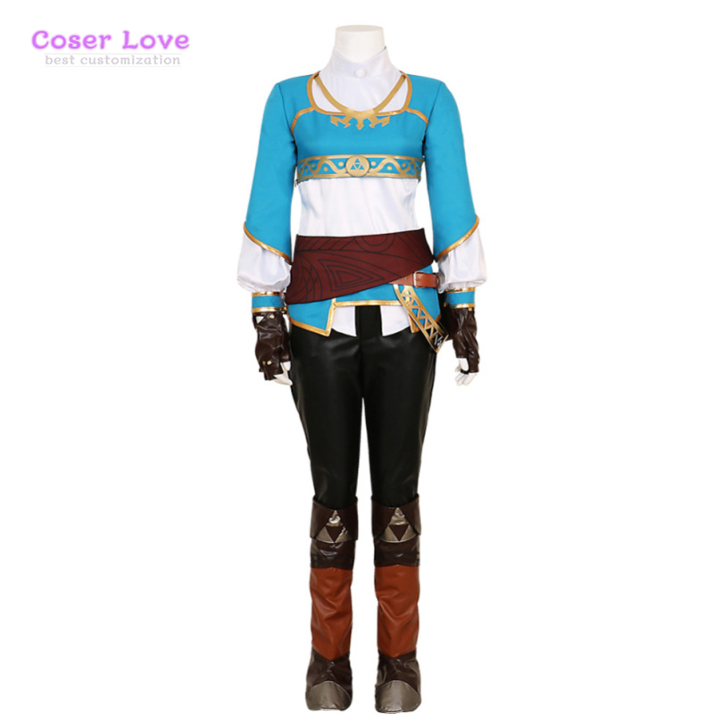 The Legend of Zelda:Breath of The Wild Cosplay Carnaval Costume Halloween Christmas Costume