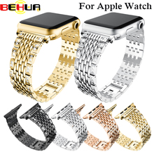 Crystal Rhinestone Watch Band Luxury Stainless Steel Bracelet Strap Bands for Apple watch Series 1/2/3 38/42mm bracelet