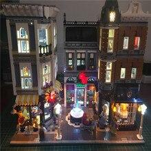 9357829f3f7e2 Zestaw oświetlenia Led DIY dla budowania Lego ulicy miasta 10255 plac  zgromadzenia dom zabawki klocki Creator miasto zestaw oświ.