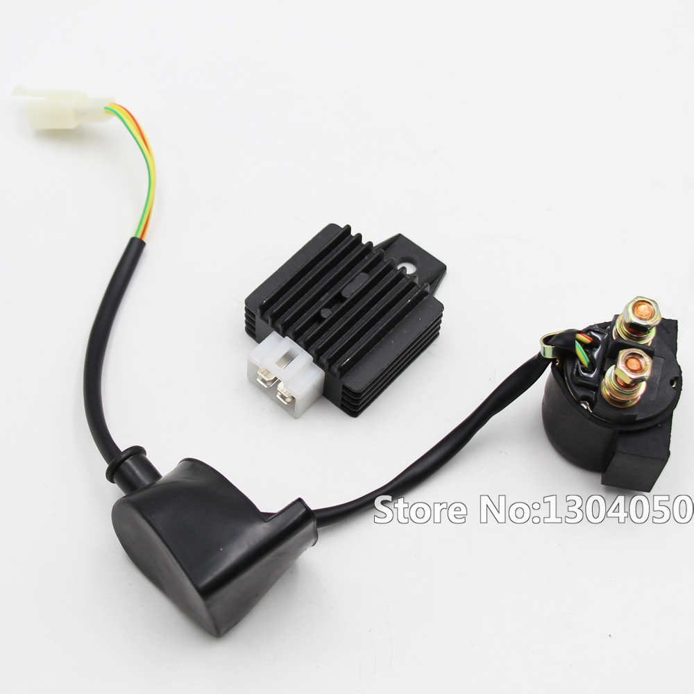 4 Pin Voltage Regulator Rectifier Starter Solenoid Relay For Gy6 50 Case Wiring 90 125 150 Cc Moped Scooter Atv New In Motorbike Ingition From Automobiles Motorcycles