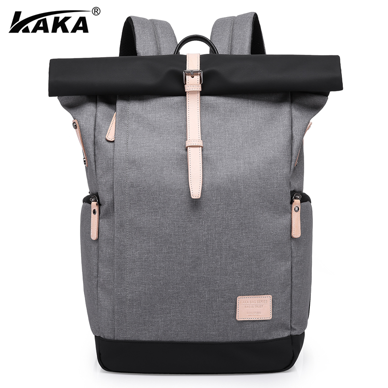 KAKA Brand Unisex Men Business 15 6 Laptop Practical School Backpack Casual Travel Women s Backpacks