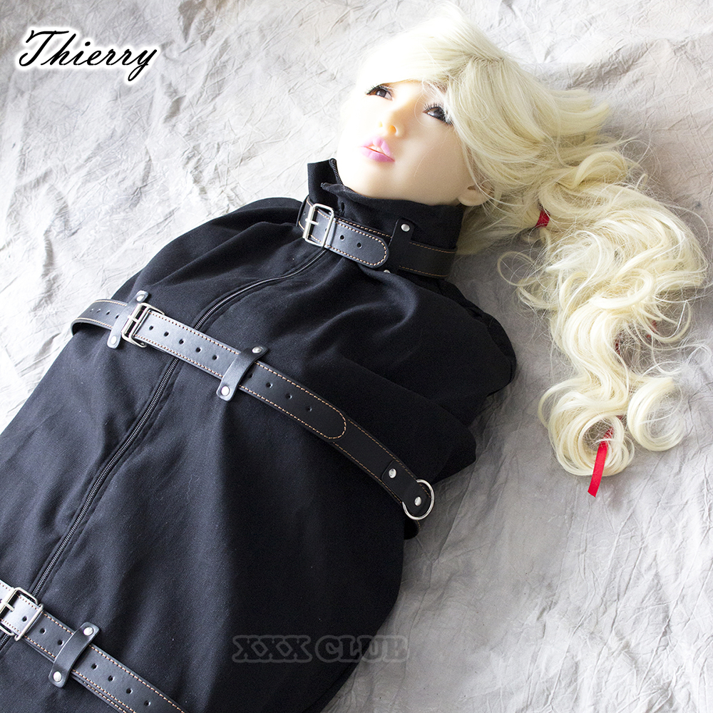 Thierry Adult games Sex Restraint Cosplay Slave Games Body mummy Fetish sleepsacks Bondage Harnesses Erotic Products