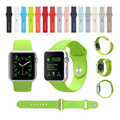 Hot Silicon Watch Band with Connector Adapter for Apple Watch iwatch Series 1 Series 2 Original 1:1 Bracelet Sports Strap I11.