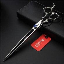 Professional Barbershop Hair Scissors 7 Inch 8 9 Japanese Cutting Shears Thinning Straight Haircut Cliper Makas